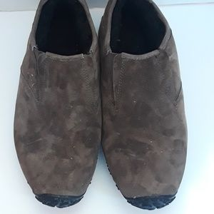 Merrell Suede Loafers,  size 12